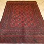 Red Afghan 197-Z (190x142)