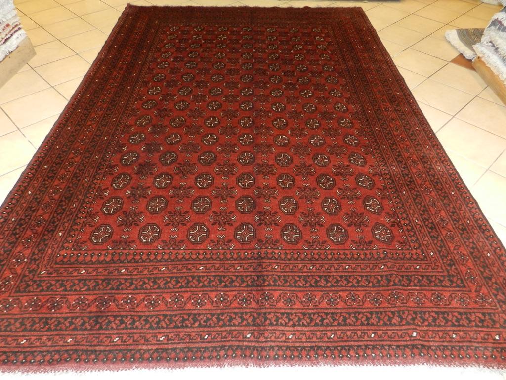 Red Afghan Oriental Rugs